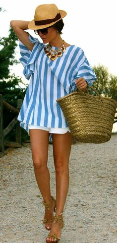 How to look chic at the beach. Beach look, resort wear. Vacation Style, Vacation Outfits, Vacation Wear, Jamaica Outfits, Beach Wear, Beach Look, Beach Resort Wear, Aqua Resort, Summer Wear