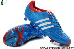 2013 Adidas adiPure 11Pro TRX FG - Bright Blue-Running White-Infrared Football Boots On Sale