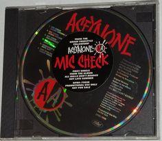 Aceyalone Mic Check 1995 CD Single Promo Rare L.A. Rap Project Blowed [44503] - $32.95 : Vinyl Frontier Music, - Rare Records, CDs, posters, memorabilia, and more:, Vinyl Frontier Music, - Rare Records, CDs, posters, memorabilia, and more: