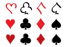 Illustration about Three different kind of playing card icons. Illustration of game, deal, casino - 13889458 Photo Playing Cards, Different Kinds, Royalty Free Stock Photos, Clip Art, Illustration, Icons, Tattoos, Tatuajes, Symbols