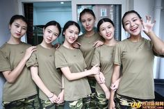 Military training is underway on university campuses across China, required for university freshman. Many of these students taking part in the training have snapped photos to record their military lives. They later post these photo online, winning popularity among Chinese netizens.