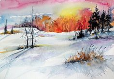 Winter by Kovacs Anna Brigitta