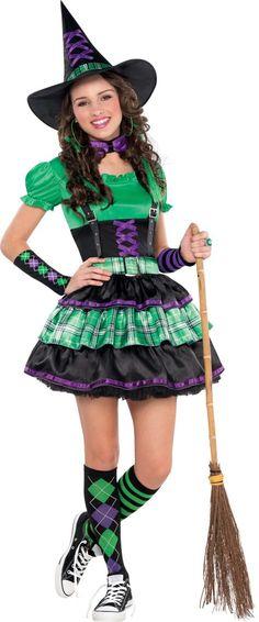 Girls Spellbound Witch Costume #partycity #halloween \ - witch halloween costume ideas
