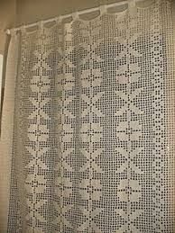 Resultado de imagen de colcha de croche Crochet Curtains, Doilies, Knots, Crochet Patterns, Lace, Handmade, Happy, Projects, Curtains For Kitchen