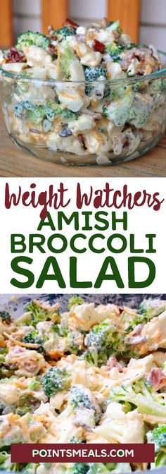 Amish Broccoli Salad… This is to die for… #weight_watchers