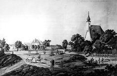 Servatiuskirche-Liesing - Liesing (Wiener Bezirksteil) – um 1800 Painting, Art, Pictures, Art Background, Painting Art, Kunst, Paintings, Performing Arts, Painted Canvas