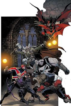 Cover to Secret Avengers #34 by Art Adams