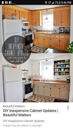 Manhattan Nest's Country Chic Kitchen   kitchen   Pinterest   Reuse ...
