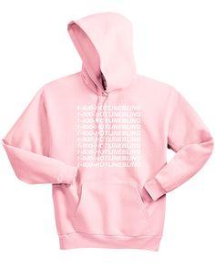 1-800-HOTLINEBLING Hoodie OVO Drake Sweatshirt Light by AKDKNY