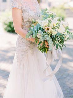 Photography: Peaches And Mint - peachesandmint.com Wedding Dress: Inbal Dror - inbaldror.co.il/en Floral Design: Flowerup - flowerup.at/   Read More on SMP: http://stylemepretty.com/vault/gallery/37707