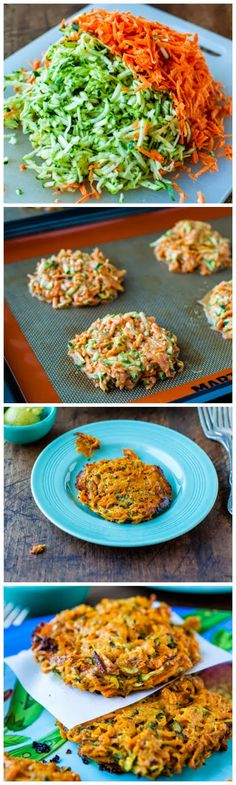 Baked Chipotle Sweet Potato and Zucchini Fritters - Latest Food