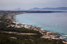 Es Caló de San Agustí desde el Mirador, Formentera