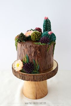 How to Make Buttercream Succulents Online Class by Make Fabulous Cakes Learn How to make edible succulents made out of yummy buttercream with this class! Cupcakes Succulents, Edible Succulents, Succulents Online, Succulent Cakes, Pretty Cakes, Cute Cakes, Beautiful Cakes, Amazing Cakes, Creative Cake Decorating