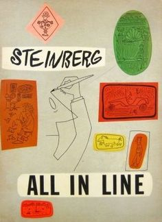 saul steinberg ✭ all in line ✭ graphic inspiration
