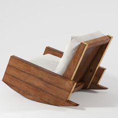 Asturias Armchair - Carlos Motta on Behance
