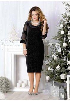 864a7ff5de1 Neujahrskollektion von Kleidern für Mädchen und Frauen des belarussischen  Unternehmens Mira Fashion 2019
