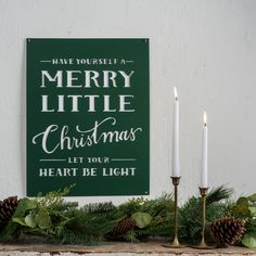 Merry Little Christmas Sign - Magnolia Market | Chip & Joanna Gaines