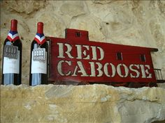 Red Caboose Winery, Meridian, TX