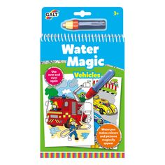 Buy Galt Water Magic Vehicles Colouring from our Arts & Crafts range at John Lewis & Partners. Free Delivery on orders over Activity Toys, Activities, Hidden Pictures, Make Color, All Toys, Colorful Pictures, Hobbies And Crafts, Games For Kids, Are You The One