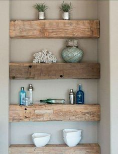 Gorgeous shelves