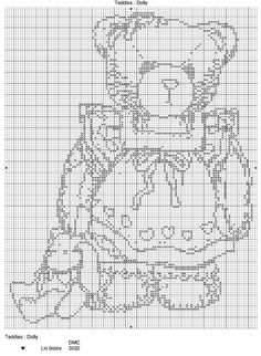 Cross Stitch *♥* Teddy Bear
