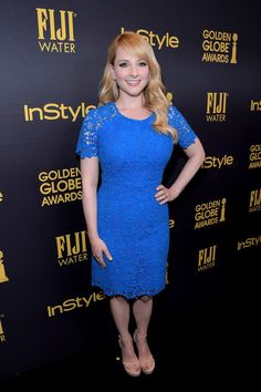 Melissa Rauch Photos Photos - Actress Melissa Rauch attends the Hollywood Foreign Press Association and InStyle's Celebration of the 2017 Golden Globe Awards Season on November 10, 2016 in West Hollywood, California. - FIJI Water At The Hollywood Foreign Press Association And InStyle's Celebration Of The 2017 Golden Globe Awards Season