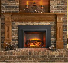 In the past it was almost impossible to think that you could use something to replace wood in the fireplace. With advances in technology, you can now use electricity to power chimneys and achieve the same desired look. The fireplace electric insert is designed to fit into your existing wood...