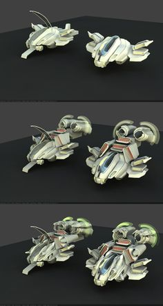 Hovertank WIP2 by kheng on deviantART