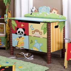 Have to have it. Teamson Sunny Safari Toy Box $129.56