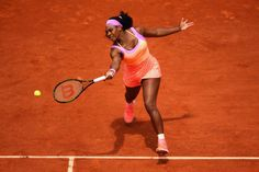 Serena Williams at French Open 2015. #Williams #FrennchOpen
