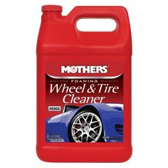 Mothers 05902-4 Foaming Wheel & Tire Cleaner - 1 Gallon, (Pack Of 4), 2015 Amazon Top Rated Tire Care #AutomotivePartsandAccessories