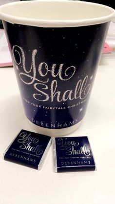 Thursday 9th November 2017: it's all about Christmas in the office this week! #youshall