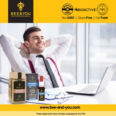 Here is a %100 natural and healthy solution for hard workers! Consume 20 drops of BEE&YOU Propolis Water Soluble daily with water, tea, coffee, milk of your favorite juice and feel the energy and vitality with BEE&YOU royal jelly raw honey! For more details visit www.bee-and-you.com/ #beeandyou #beeandyounatural #winter#flu #coldandflu #fluseason #virus #influenza #hightemperature #tiredness #weakness #noaddedsugar #nonGMO#glutenfree #palmoilfree #healthysnack #healthspread #honey #propolis