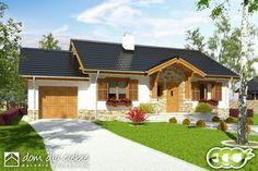 Projekt domu Ares - wariant B - Dom Dla Ciebie Pergola, Outdoor Structures, Outdoor Decor, Home Decor, Outdoor Pergola, Interior Design, Home Interiors, Arbors, Decoration Home