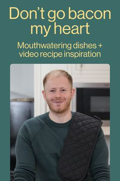 Interested in discovering some new recipes that bring a smile to your face? Follow Chris for more food inspiration.