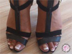 french nails nail art nail-art voeten pedicure utrecht Pedicures, Birkenstock Mayari, Utrecht, French Nails, Nail Art, Fancy, Sandals, Beauty, Shoes