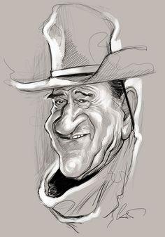 John Wayne (caricature)