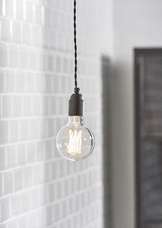 Snoerboer hanglamp | Industrial hanging lamp | KARWEI 1-2018