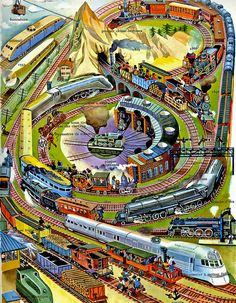 1946 ... many trains! | Flickr - Photo Sharing!