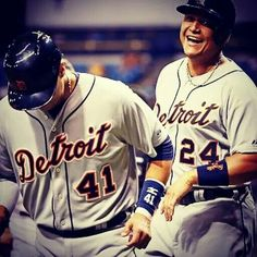 Miggy and V-Mart.