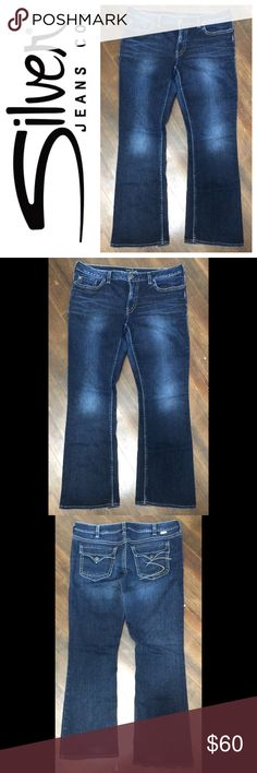 NWT Silver Jeans Suki Mid-Rise Skinny Jeans Sz 29 ▫ Silver ...