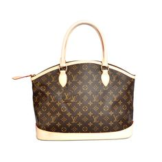 Louis Vuitton Lockit Horizontal Brown Top Handles  219  Louis Vuitton  Online Sale Store- Save Up To 85% Off 6c9bff0b1d271