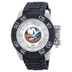 Men's NHL Game Time New York Islanders Pearl Series Watch - Black