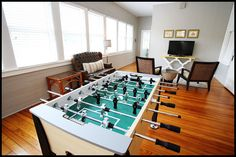 WHEEL HOUSE: Is it Foosball season yet? Get your game on at Wheel House.