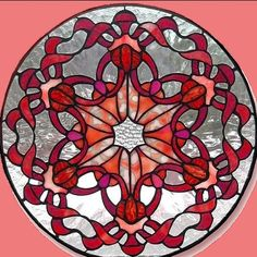 Lots of free stained glass patterns