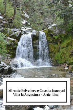 Mirante Belvedere e Cascata Inacayal em Villa la Angostura
