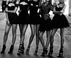 """little black dresses .... some REALLY """"little"""" ...."""