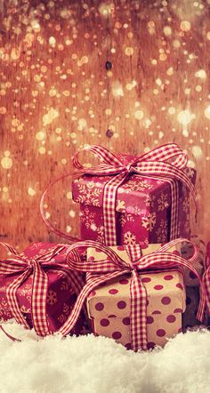 Christmas Presents Wallpaper