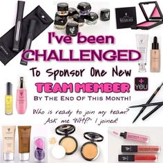 So who loves makeup? Who wants to make some extra money? I'm looking to sponsor 3 motivating empowering uplifting ladies this month. And you know what is good we get trip incentives we get paid every 3 hours after sales no month to month quotas the people above you are there to help guide you in the right direction. And guess what? You get to run your own business make your own hours and run it how you wanna run it! Its pretty awesome! Wanna join me and this journey? Message me now!!! I've…