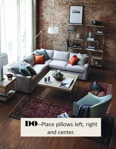 50 Best Rustic Apartment Living Room Decor Ideas and Makeover – Home Design Loft Living, Home And Living, Home Living Room, Interior, Apartment Living Room, Apartment Design, Fall Home Decor, House Interior, Small Apartment Design
